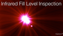 Infrared fill level inspection