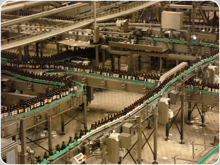 Bottle Sorting Inspection Units. Sorting inspection units are vital components of the Glass Returnable Beverage Bottling Lines, all times the bottles returned in the crates are mixed with others by Competitors, other formats, colours, logos, etc. and their classification is not immediately possible when they are still in the crates by mean of a Returned Crate Inspector