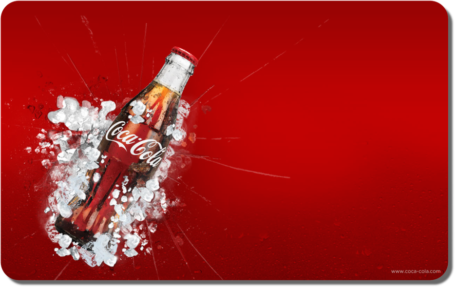 Coca-Cola Wall Red