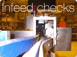 EBIs Infeed checks