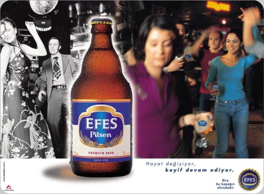 Efes at Moscow and Efes  Amstar at Ufa Russia