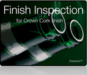 Finish inspection, crown cork