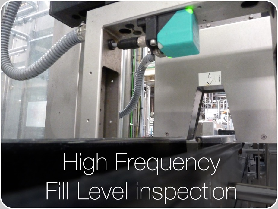 High Frequency fill level inspection 4096x3079@1x
