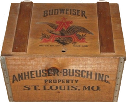 Crates and cases are part of the Beverage Bottling history