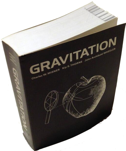 Gravitation, by J. A. Wheeler, C. W. Misner and K. Thorne, with its 1300 pages is since 1973 the worldwide standard textbook of General Relativity