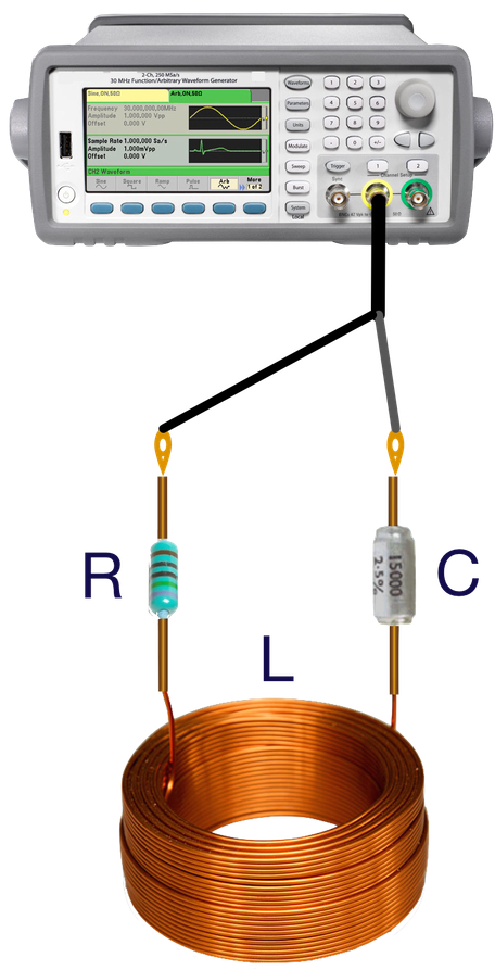 the fiction.  Linear character of the inductor, resistor and capacitor is what we expect to see after connecting them to Functions or Signal Generator in a RLC serie circuit, powered by a sinusoidal wave form.   Linear means they are bipoles whose behaviour follows the classic version of the Principle of Superposition