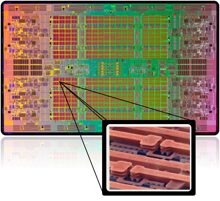 Integration of non-linear quantum components in a modern CPU