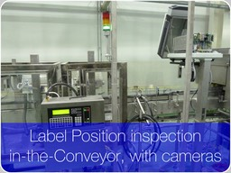 "Label position inspection in-the-Conveyor with cameras. Introduction  In the fast Labeller Machines >50000 bottles-per-hour the missing plus malpositioned Collars account typical rates as high as ~80 % of the total rejects, with missing and malpositioned Body and Black labels summing up to the remaining ~20 % of the detected defects (image credit CARLSBERG Group, 2014) Label Inspection           Flash animation, 49 MB, ZIP     After download click index.html                                70 pages, 37 MB      A real jump-up on Label Inspection performances is obtained when changing technology from Photoscanners to Machine Vision.   Reason is the much greater amount of Information about the label properties that it results possible to register with a camera.  Amount established correlating a label with hundredths of thousands (or, millions) of individual photo-detectors, rather than just one.   The figure above shows an example of the equipments' for final inspection using CCD- or CMOS-technology cameras to inspect the labels' presence and position.   At left side, a typical example of labelling where Machine Vision becomes nearly unavoidable.    What performances  The performances to expect depend on:  the optic configuration,  amount of cameras,  eventual adoption of Artificial Intelligence algorithms, amount of CPUs devoted to the task or, availability of GPUs.     CMOS industrial camera 32  In the fast Labeller Machines >50000 bottles-per-hour the Collars missing and mal-positioned, account typical rates as high as ~80 % of the total rejects, with missing and malpositioned Body and Black labels summing up to the remaining ~20 % of the detected defects ( CARLSBERG Group, 2014)      As an example, for the final inspection equipment depicted above, they are close to:                  (1.0 ± 0.1) mm malpositioned labels, detected at >96 % with associated false reject ratio < 0.01 %, missing- or flagging-labels, detected at >99.5 % with associated false reject ratio < 0.01 %. To detect the entire external sidewall of the container, means to use two CCD- or CMOS- cameras equipped with some megapixels each.   Notoriously, each pixel emulates an elementary (passive-only, no light source) analog photoscanner, whose dynamical range following its model ranges today (4096 - 65535) grey levels.   By these digits, millions of individual analog photo detectors, and the fact that from each one we are capable to discriminate thousands of grey levels, it is easy to infer why the performances jump-up from the mere presence or absence of a label detectable with a single photoscanner, to positions whose accuracy level rounds 0.1 mm. What is a ""good Label inspection"" ?  The correlated Label-Pixel State                     To establish a relation between a label (""Label"") and a Photoscanner (""Photoscanner""), both differentially related with the Environment (""Environment1"", Environment2""), is necessary Time.   Time to transform the previous state, in which all possible kinds of correlation of the Photoscanner coexist, in a following state in which the Photoscanner is ""aware"" to be correlated to a label, because having recorded eigenvalues for the eigenfunction ΦiS1 describing a cap.  Quantomechanical explanation of the measurement process, unaffected by the circularities implicit in the classic explanations.  The vertexes represent interferences  As we saw with plenty of details elsewhere in this web site, as an example we'll try to determine if a bottle is labelled by mean of a system like a camera, including millions of Pixels.   Pixels accumulate one-by-one the photons reflected by the sidewall, neck and closure of the bottle.   Later discharging the potential accumulated to an A/D converter whose outfeed is sequentially read by following circuits to deduce what to a level of illumination has been subjected each individual pixel during the limited exposure Time.  [There are particularly fast Electronic Inspectors, adopted to inspect plastic empty bottles, having the exposure Time of the Pixels in their cameras forcedly limited to tens of microseconds…]    Whatever physical system, label included, is represented by its wave function or state vectors.    The physical meaning of the state vector becomes apparent when making a measurement.   Then the state of the system assumes one of the eigenstates, with probability given by the Born rule, and the result of the measurement is the corresponding eigenvalue. To definetely perceive a correlated Label-Pixel State, they are necessary:  Time, to transform the previous state, in which all possible kinds of correlation of the pixel coexist, in a following state in which a camera inspection is ""aware"" to be correlated to a Label, because having recorded eigenvalues for the eigenfunction ΦiS1 describing a Label.  The correlation between the two systems, camera inspection and Label, is progressively established during interaction and proportional to the natural logarithm (ln t) of the interaction time t.   An ideal correlation, one corresponding to a maximised information of the inspection about the Label, can only be reached allowing an infinite time.   The fact we cannot wait for an infinite time causes the measurements' fluctuations, a synonimous of the spectrum of the eigenvalues, resulting in the Electronic Inspector's false positives (false rejects).    Time, for what ?    To transform the previous state, in which all possible kinds of correlation (superpositions) of each one of the many pixels composing a camera sensor coexist, in a following state in which the inspection is aware to be correlated to a Label, because having recorded eigenvalues for the eigenfunction ΦiS1 describing a Label by the camera pixels; Interaction between the systems such that the Information in the marginal distribution of the object inspected is never decreased.  In a probability distribution deriving by two random variables, we remember that marginal distribution is where we are only interested in one of them.   Otherwise, we'd have forced a reduction in the sample space of one of the random variables and then, we could not have any more repeatability of the following measurements.   As an example, this should be the case if to interact with the Label we'd erroneously try to use a beam of high energy neutrons, rather than strobo flashers' or LED-matrices's low energy photons.   The neutrons should modify the molecular structure of the Label, modifying its eigenstates and then the eigenvalues we expected to derive by the measurement."