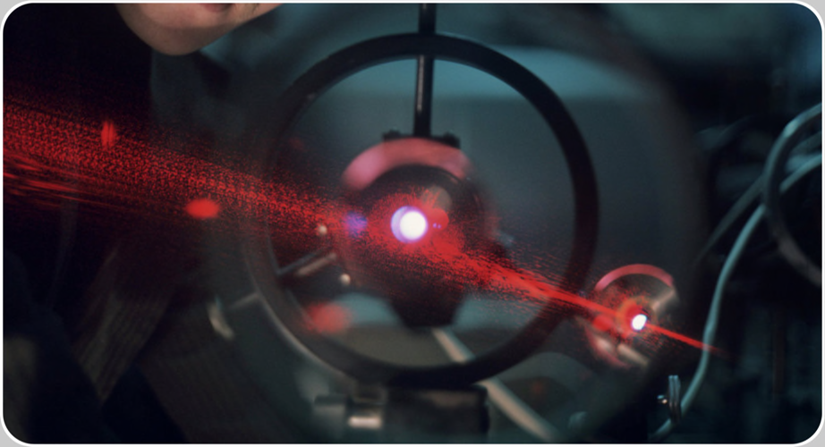 LASER technologies are applications of the photoelectric effect discovered by Albert Einstein, published in 1905 on side of the much more famous Theory of the (Special) Relativity.  LASER applications were originally only scientific and widened later to the industrial, like the LASER Fill level Inspection hinted before ( RIA Novosti/G. Koposov/2015)