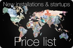 New installations pricing