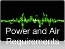 Power and air requirements of the Electronic Inspectors